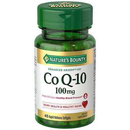 Nature's Bounty Q-Sorb CoQ10 100mg Softgels