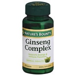 Nature's Bounty Ginseng Complex Plus Royal Jelly