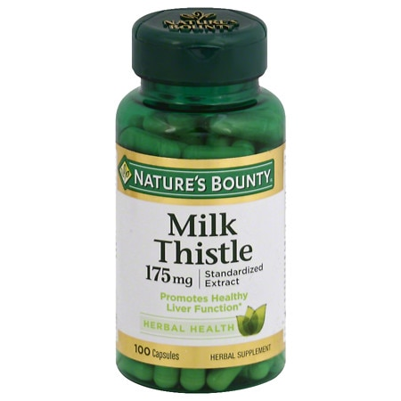 Nature's Bounty Milk Thistle capsules 100ct