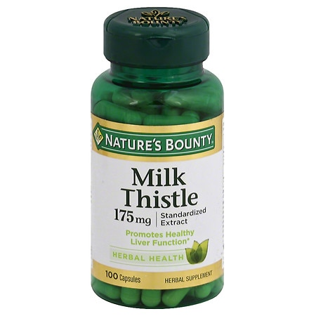 Nature's Bounty Milk Thistle Capsules