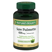 Nature's Bounty Saw Palmetto, 450mg, Capsules
