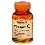 Sundown Naturals Vitamin C, 500mg, Capsules