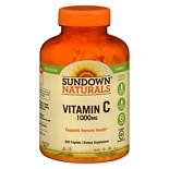 Sundown Naturals High Potency Vitamin C, 1000mg, Caplets