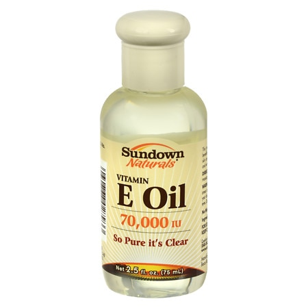Sundown Naturals Pure Vitamin E Oil, 70000 IU