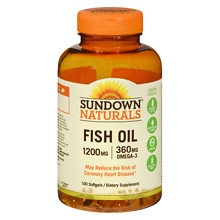 Extra Strength Fish Oil, 1200mg, Softgels