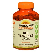 Red Yeast Rice 1200 mg Dietary Supplement Capsules, Capsules