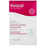 Viviscal Extra Strength Hair Nutrition Dietary Supplement Tablets 60 Ct