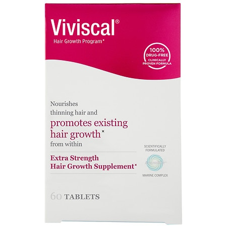 Viviscal Extra Strength Hair Nutrition Dietary Supplement Tablets