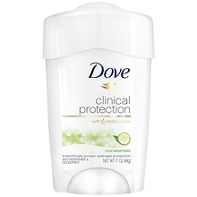 Dove Clinical Protection Antiperspirant & Deodorant Solid Cool Essentials: Cucumber & Green Tea