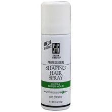Shaping Hair Finishing Mist Spray Travel Size, Extra Super Hold