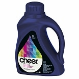 Cheer Stay Colorful Liquid Laundry Detergent, 32 Loads Fresh Clean  Scent