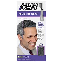 Just For Men Touch of Gray Hair Treatment Dark Black - Gray T-55