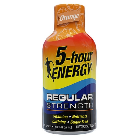 5-Hour Energy Energy Shot Orange