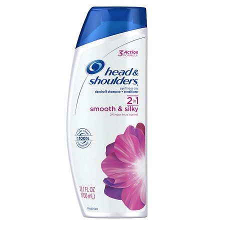 Head & Shoulders Smooth & Silky 2 in 1 Dandruff Shampoo & Conditioner