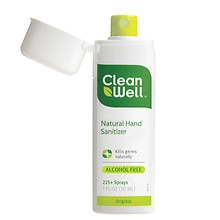 Cleanwell Natural Hand Sanitizer Spray Original