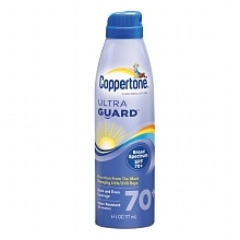 Coppertone UltraGuard Sunscreen Continuous Spray, SPF 70