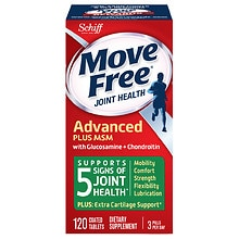 Schiff Move Free Advanced Plus 1500mg MSM, Tablets