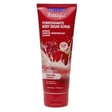 Freeman Feeling Beautiful Sugar Body Scrub, Pomegranate
