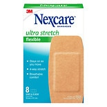 Nexcare Soft 'N Flex Natural Feel Bandages Knee & Elbow