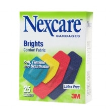 Brights Comfort Fabric Bandages, Assorted