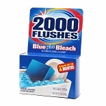 2000 Flushes Blue plus Bleach Automatic Toilet Bowl Cleaner Tablets