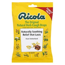 Ricola Natural Herb Cough Suppressant Throat Drops Original