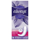 Always Fresh Xtra Protection Daily Liners Clean Scent