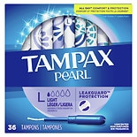 Tampax Pearl Tampons with Plastic Applicator