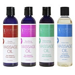 Master Massage Aromatherapy Massage Oil, Variety 4 Pack