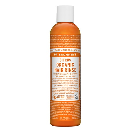 Dr. Bronner's Citrus Hair Conditioning Rinse,