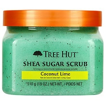 Shea Sugar Body Scrub Coconut Lime