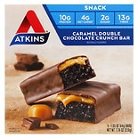 Atkins Advantage Snack Bars, 5 Caramel Double Chocolate Crunch