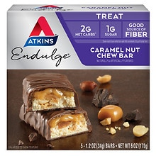 Snack Bars, 5, Caramel Nut Chew
