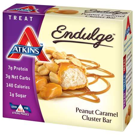 Atkins Endulge Treats, 5 Peanut Caramel Cluster
