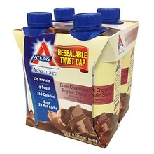 Shakes 4 Pack Dark Chocolate Royale