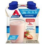 Atkins Advantage Shakes 4 Pack Strawberry