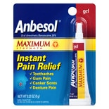 Anbesol Oral Anesthetic Gel