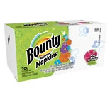 Bounty Paper Napkins, White