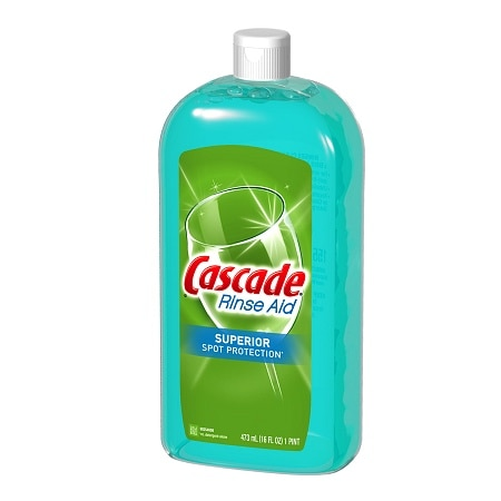 Cascade Rinse Aid Superior Spot Protection