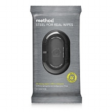 method Wet Wipes Flat Pack Steel for Real