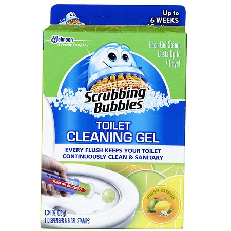 Scrubbing Bubbles Toilet Cleaning Gel Fresh Clean