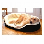 Majestic Pet Products Lounger Pet Bed 23x18 inch Black