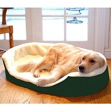 Majestic Pet Products Lounger Pet Bed Extra Large, 43x28 inch Green