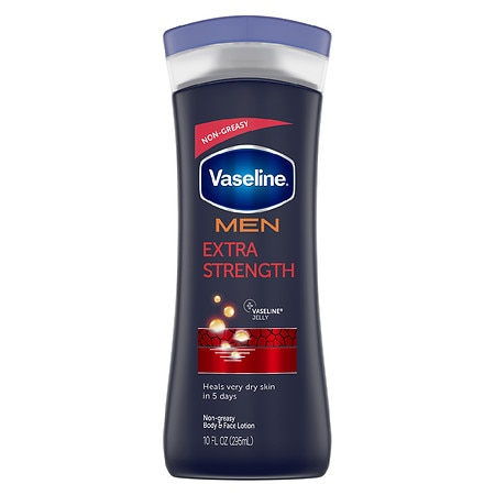 Vaseline Men Extra Strength Moisture, Body & Face