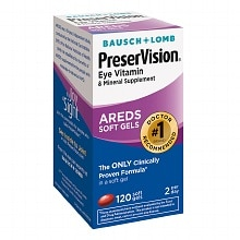 PreserVision Eye Vitamin and Mineral Supplement Soft Gels