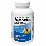 PreserVision Eye Vitamin and Mineral Supplement Tablets