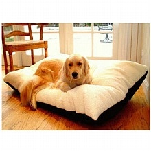 Majestic Pet Products Rectangle Pet Bed 30x40 inch Black