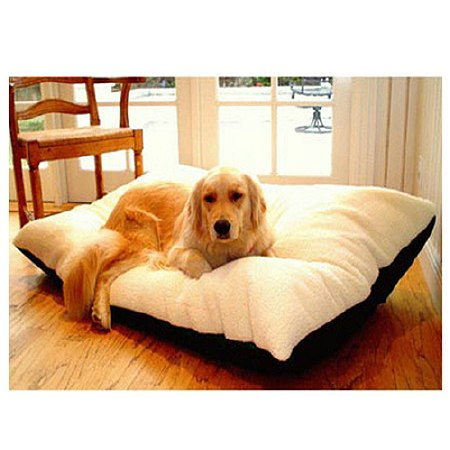 Majestic Pet Products Rectangle Pet Bed 36x48 inch Black