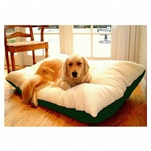 Rectangle Pet Bed 42x60 inch, Green