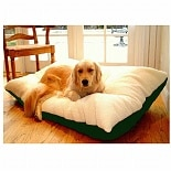 Majestic Pet Products Rectangle Pet Bed 42x60 inch Burgundy